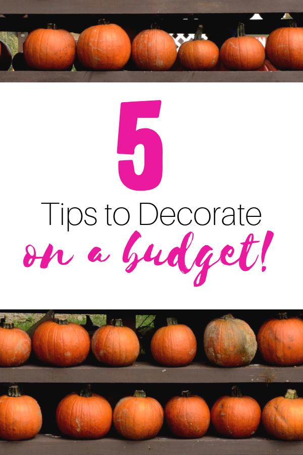 5 Cheap Fall Decorating Ideas Home Decorating Fall Decor