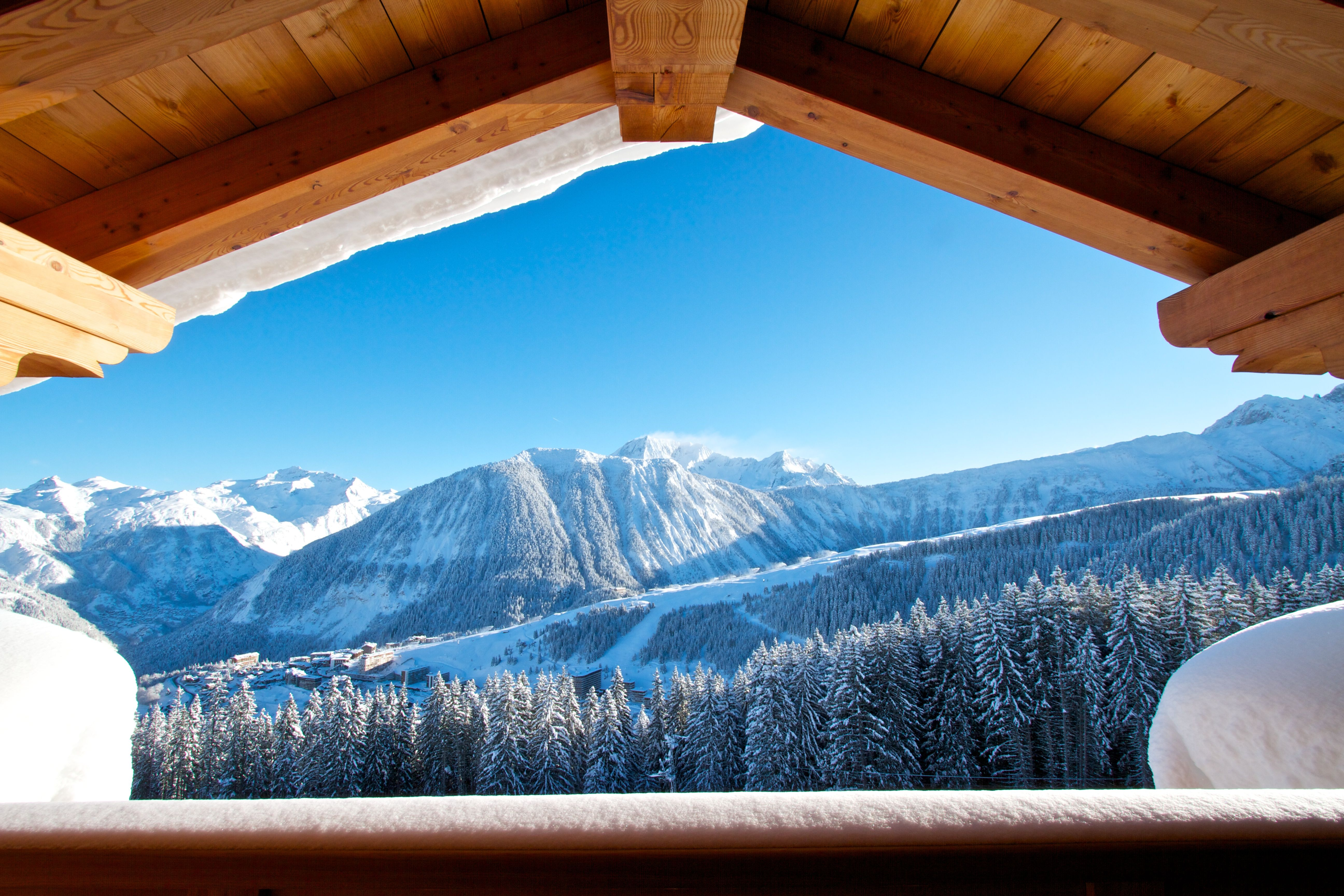 Courchevel is a ski resort in the French Alps, located in