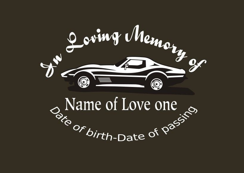 In Memory Of Car Decal Stickers