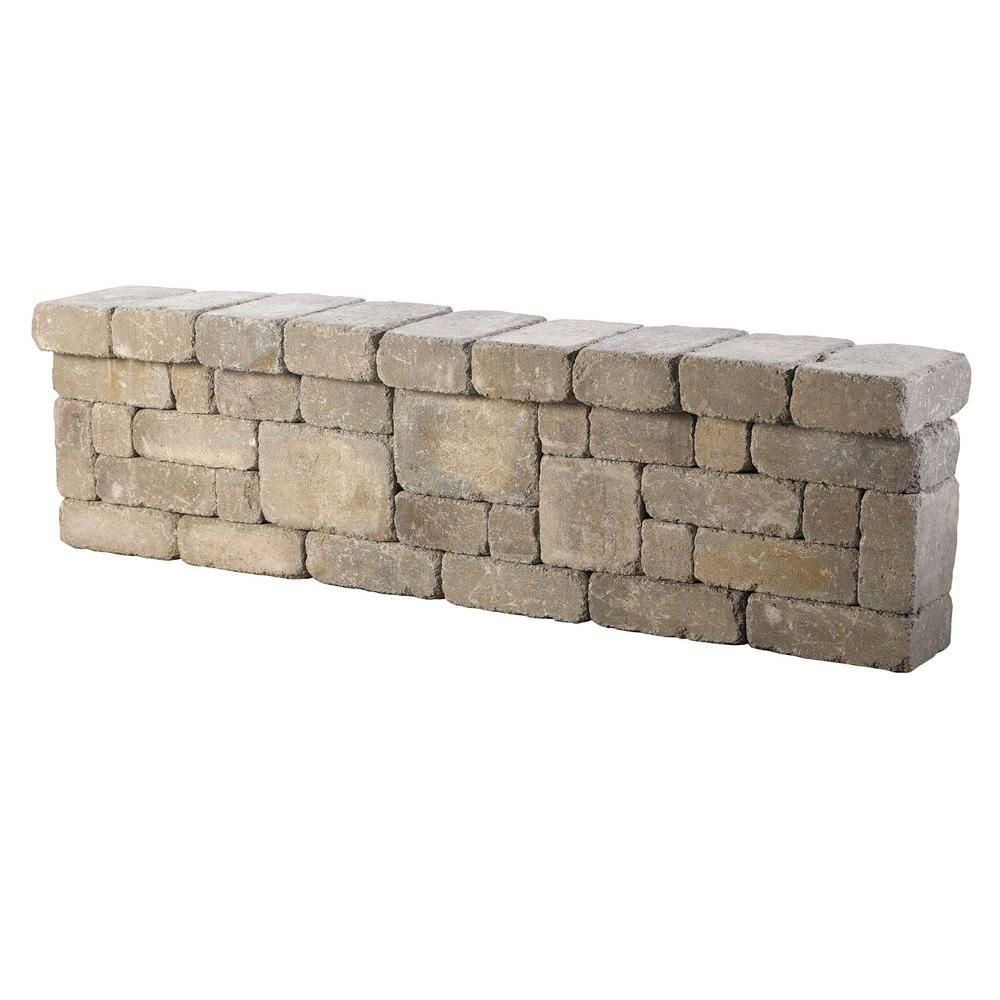 6 ft. Santa Fe Lakeland Seat Wall | Santa fe, Walls and Backyard