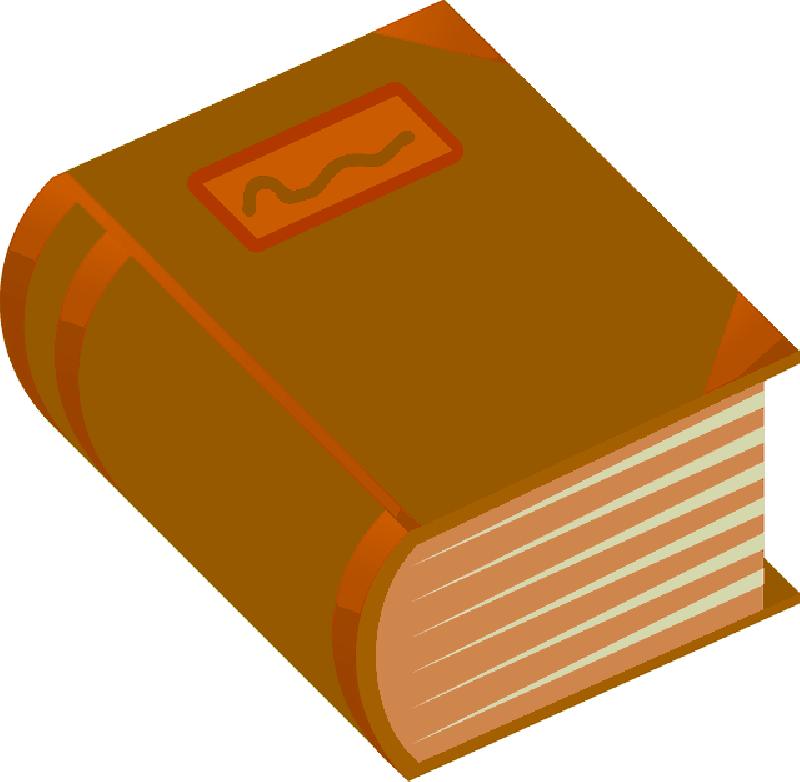 Green Cartoon Orange Free Books Book Thick And Png 800 782 Free Books Books Green