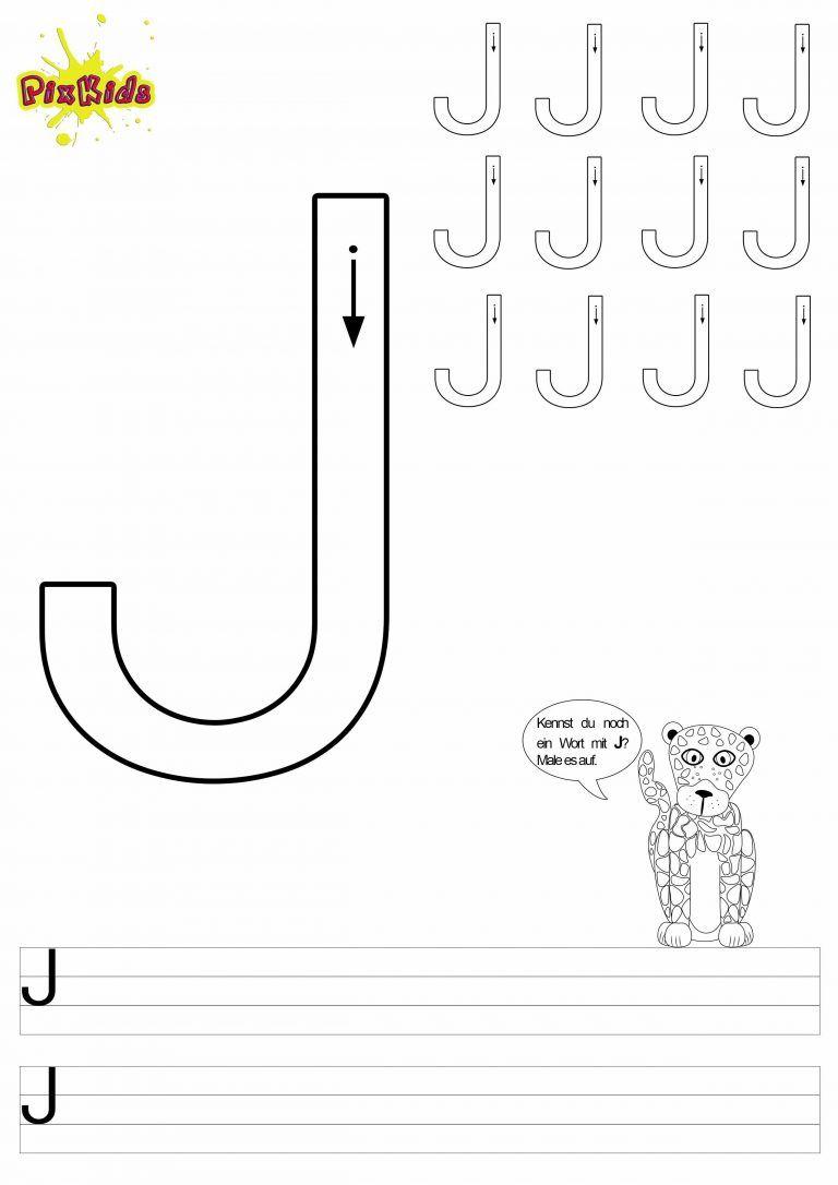 lustiges grundschule arbeitsblatt buchstabe j deutsch schreiben lernen bustaben schreiben. Black Bedroom Furniture Sets. Home Design Ideas