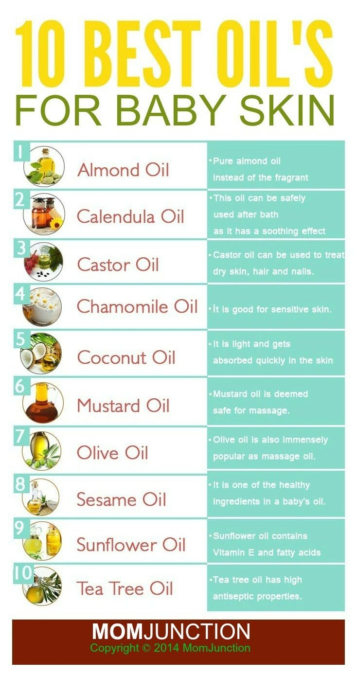 Top 10 Oils That Are Good For Baby Skin Baby Massage Essential Oils For Babies Baby Skin