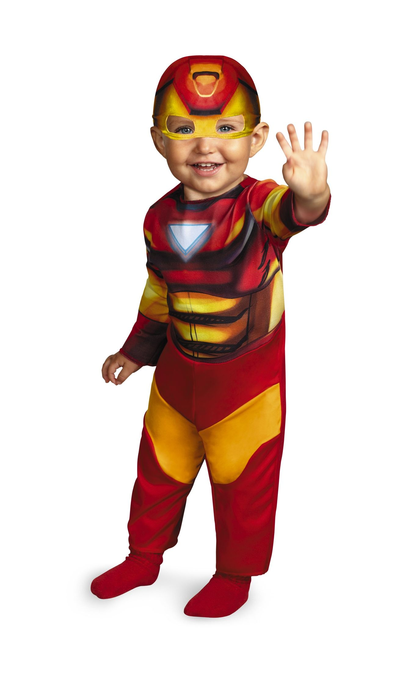 Iron Man Baby Costumes First Halloween Costumes Baby Halloween