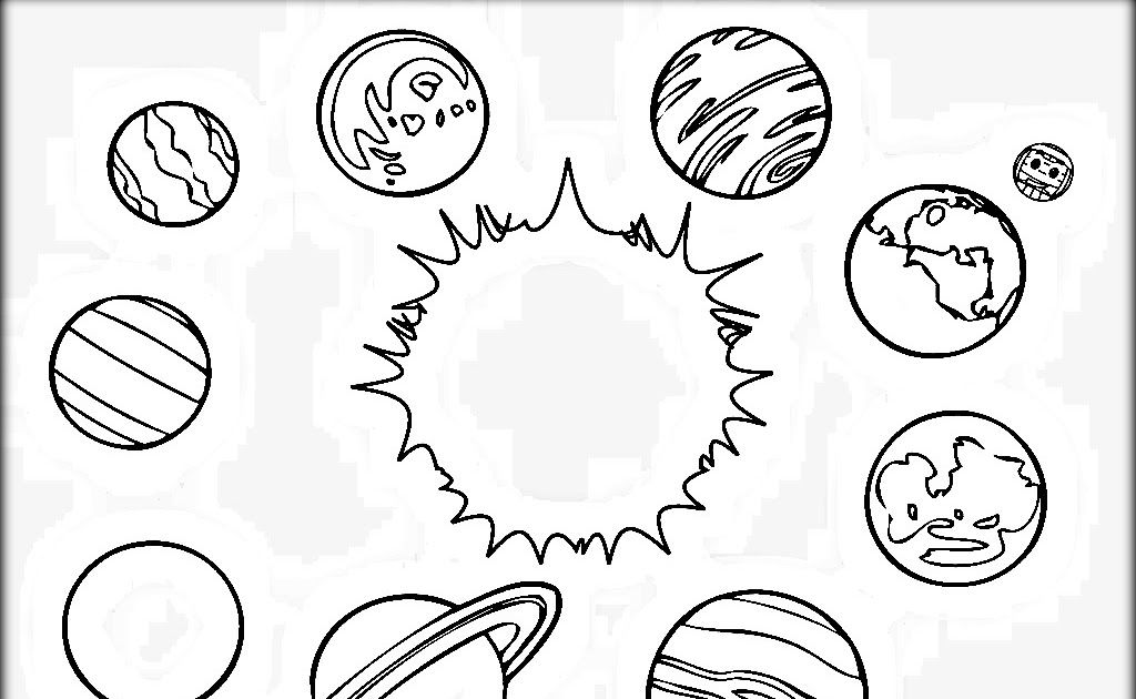 Solar System Drawing For Kids At Getdrawings Free Download Free