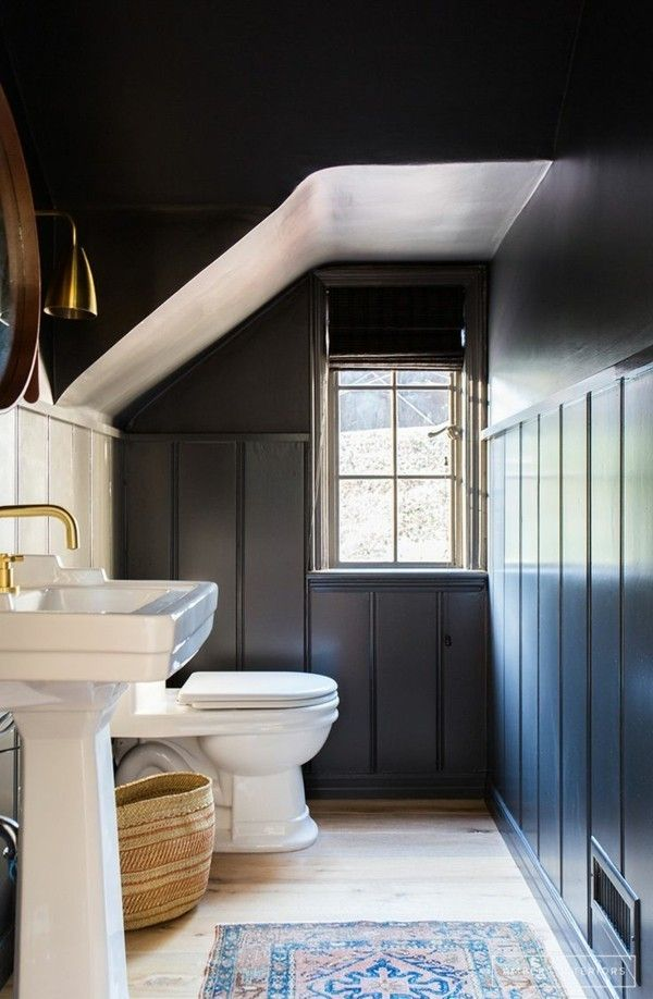 Machen Sie Das Beste Aus Ihrer Badezimmer Einrichtung In Schwarz Weiß |  Color Boards, Room Inspiration And Room