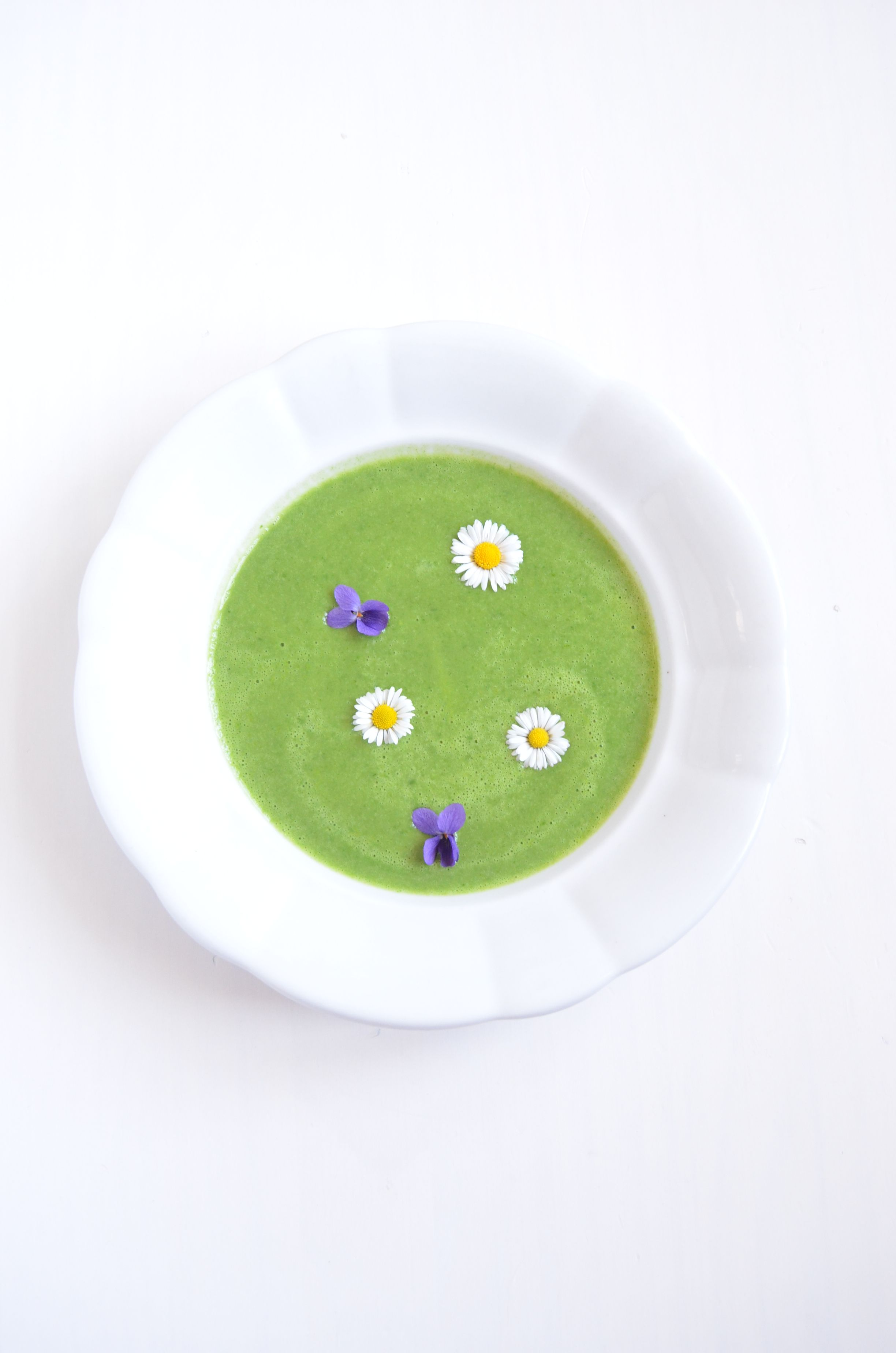 Bärlauchcreme Suppe Bärlauch Suppe vegan laktosefrei glutenfrei zuckerfrei prokopp