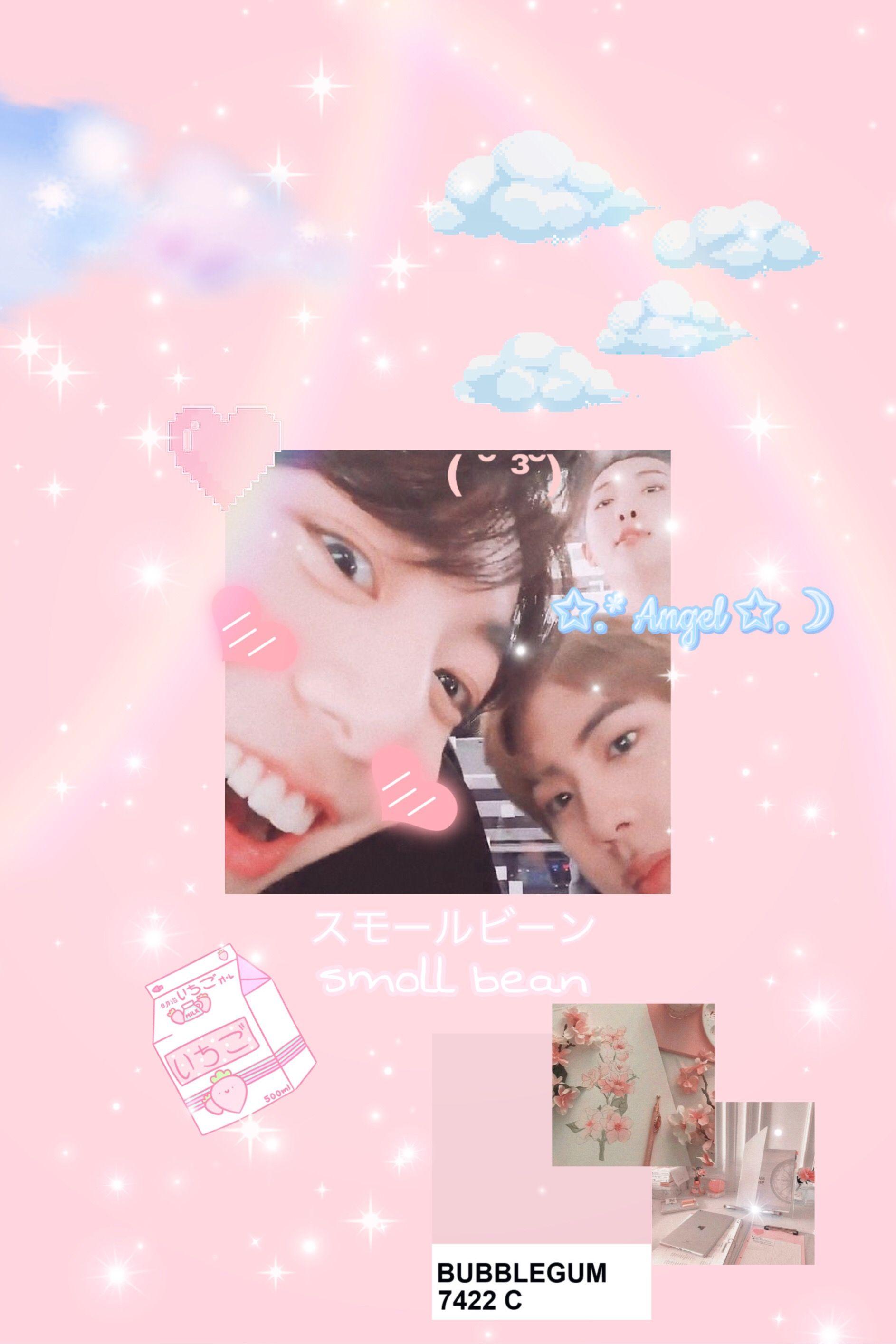Soft Bangtan Wallpaper Pink Aesthetic Iphone Wallpaper Sky Soft Wallpaper