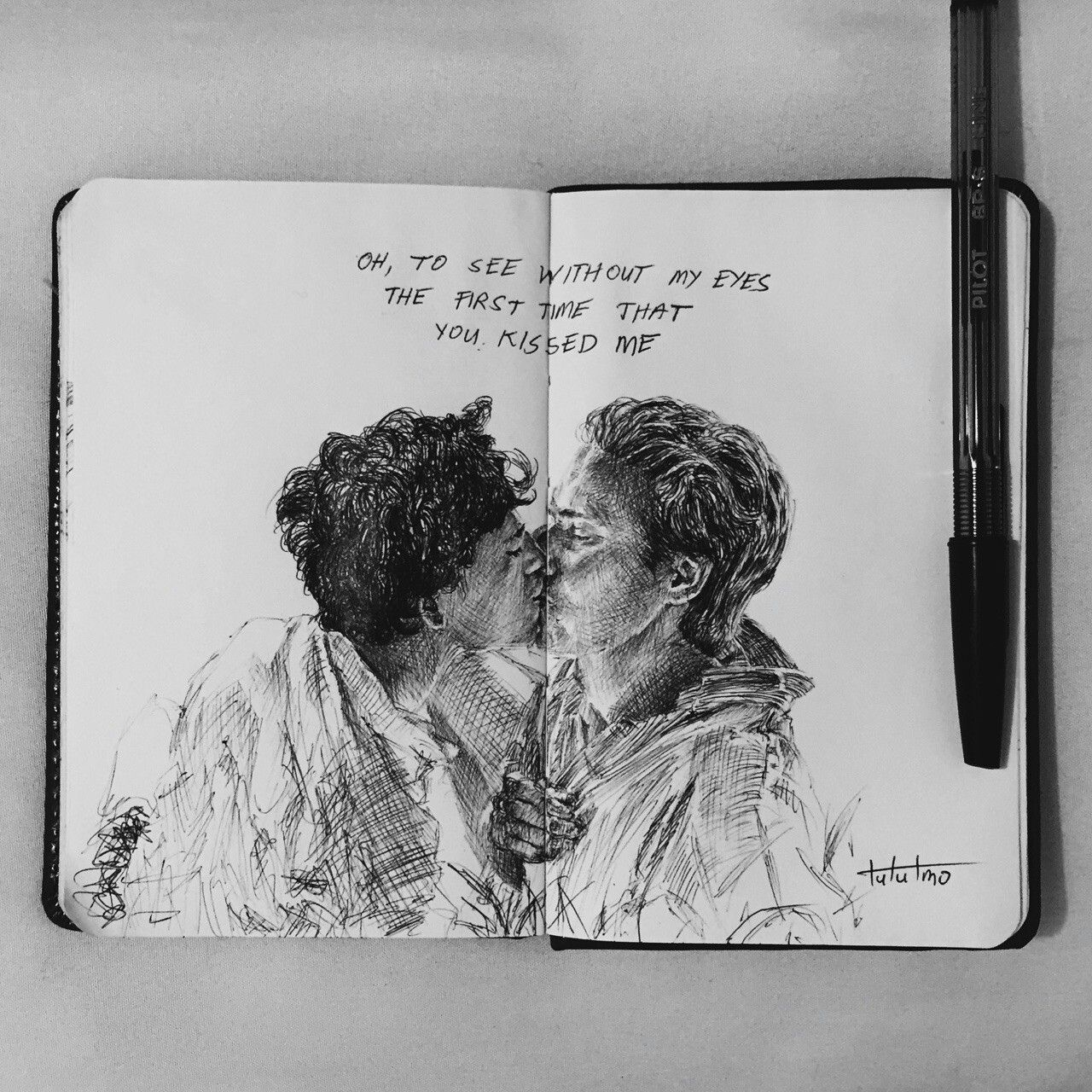 Call Me By Your Name And I Ll Call You By Mine Rysunki Szkice