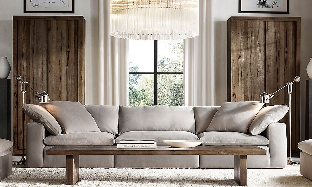 Living Room Ideas · Restoration Hardware Is The Worldu0027s Leading Luxury Home  Furnishings Purveyor, Offering Furniture, Lighting,