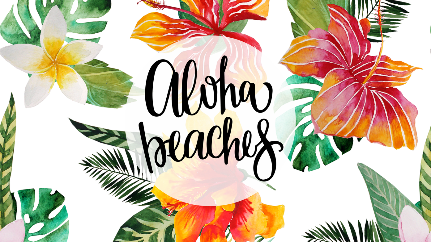 Aloha Beaches Wallpaper Aloha beaches wallpaper, Apple