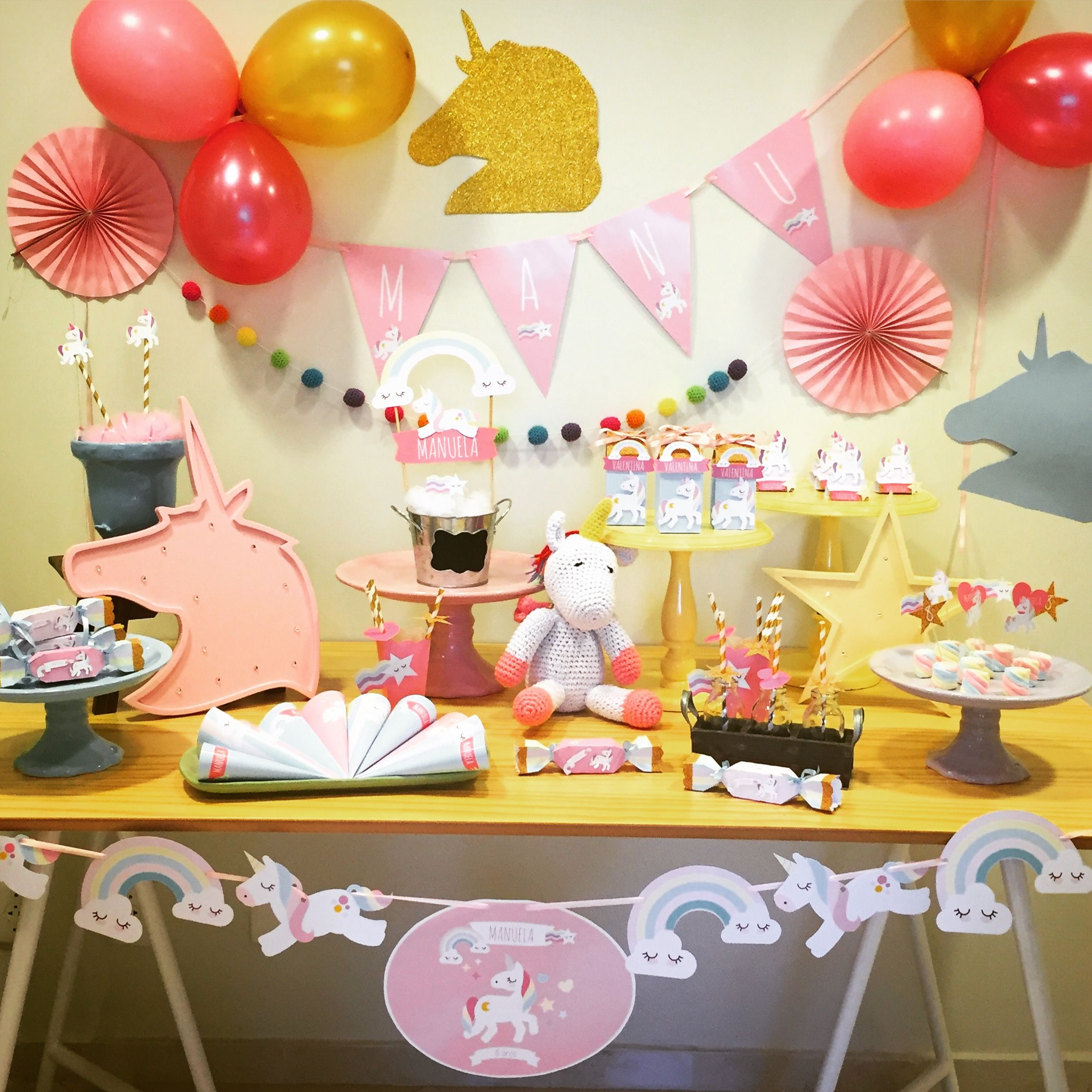 Festa Unicórnio Unicórnio, Festa unicórnio e Festa -> Aluguel Decoração Festa Infantil Unicornio