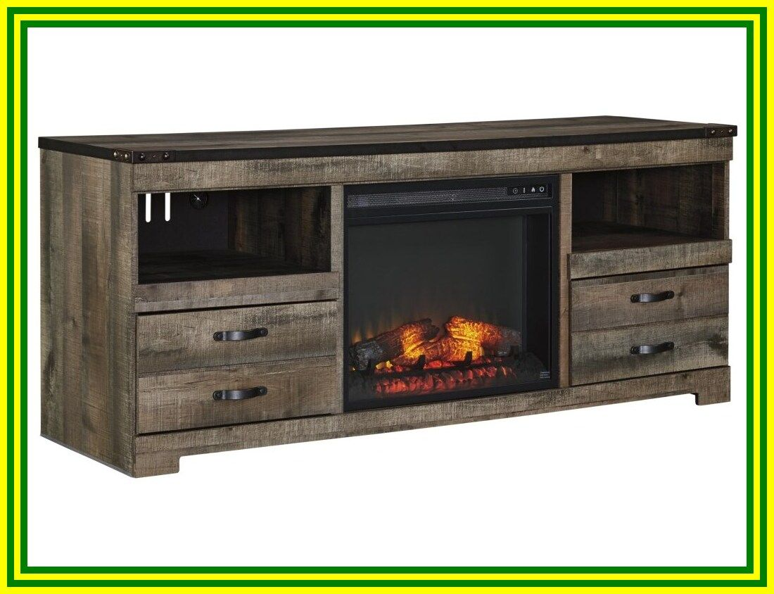 118 reference of electric fireplace tv stand insert in
