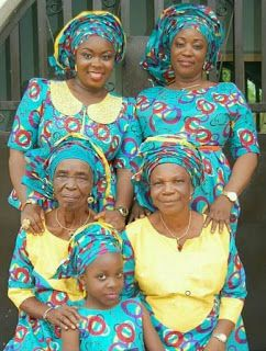 Welcome to Muoghalu Ebere Favour's Blog: Lovely Five Generation African Family