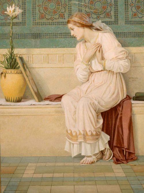 """loumargi: """" Saint Catherine 1896 .Mary Lizzie Macomber """""""