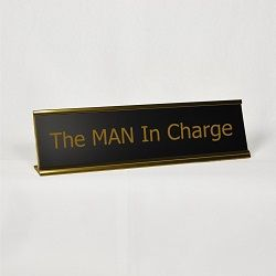The MAN In Charge