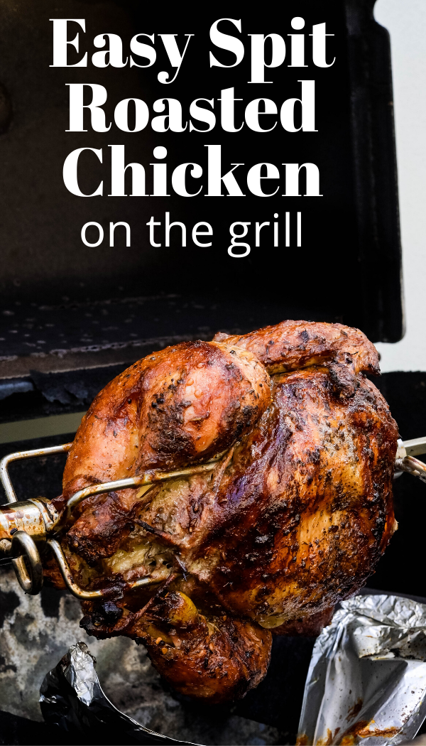 Easy Rotisserie Chicken At Home Recipe In 2020 Roast Chicken Grill Rotisserie Chicken Recipes Rotisserie Chicken On Grill