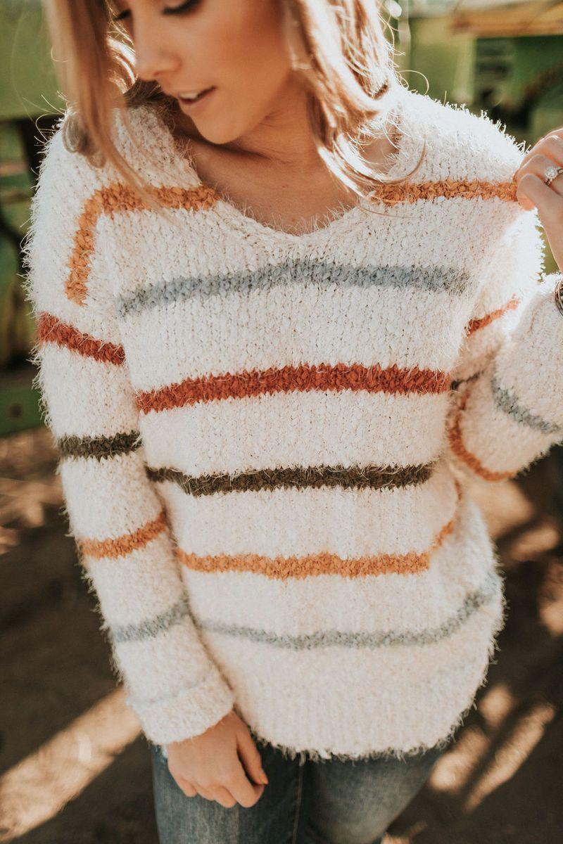 Sweet Jane Sweater-Ivory