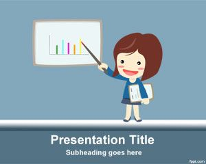 free finance education powerpoint template | projects to try, Modern powerpoint