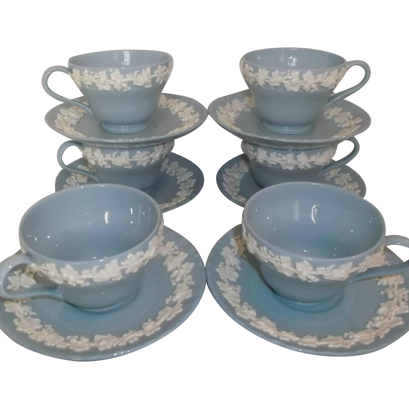 Vintage Wedgwood Cup And Saucer Sets
