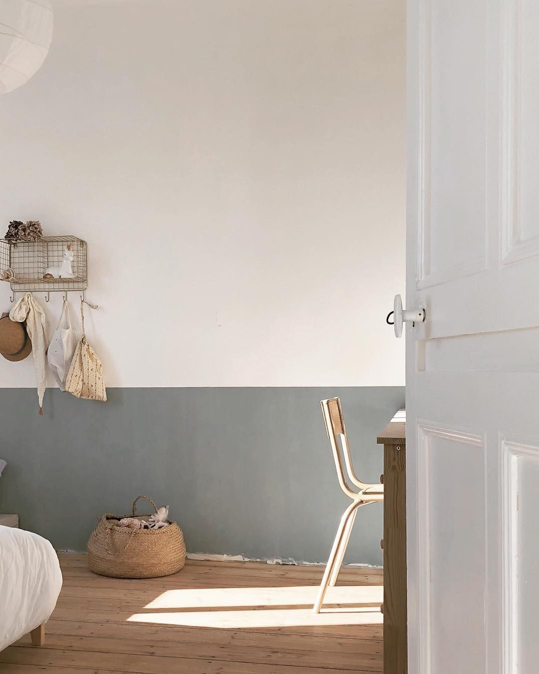 Pin By Suzanne Van Walderveen On Dwell House To Home Rustic Baby Rooms Minimalist Kids Room Children Room Girl