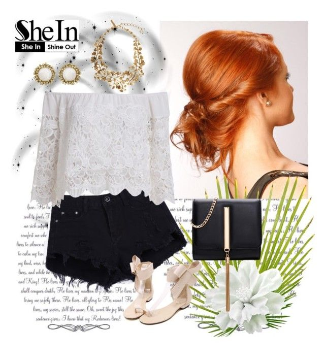 """Shein.com 3/9"" by fashionb-784 ❤ liked on Polyvore featuring Oscar de la Renta, Kendra Scott and shein"