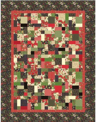 Holly & Ivy Quilt Kit by Antler Quilt Design featuring Tole ... : antler quilt design - Adamdwight.com