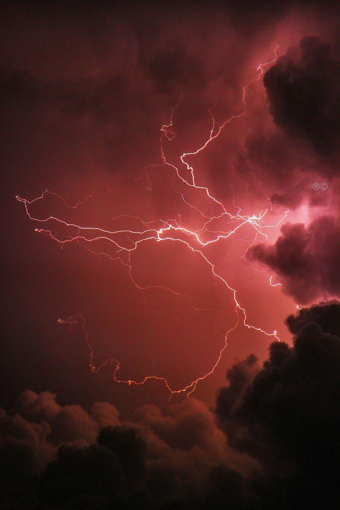 Lightning By Rcameraw Maroon Aesthetic Red Aesthetic Burgundy Aesthetic