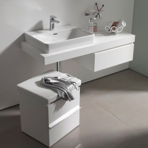 Italtile Laufen Pro A White Counter Top Basin With A Tap Hole