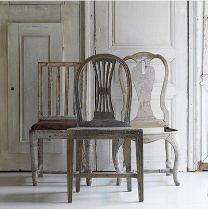 Explore Mismatched Chairs, Antique Chairs, and more! - Scandanavian Antiques. Easy Apartment Updates Pinterest