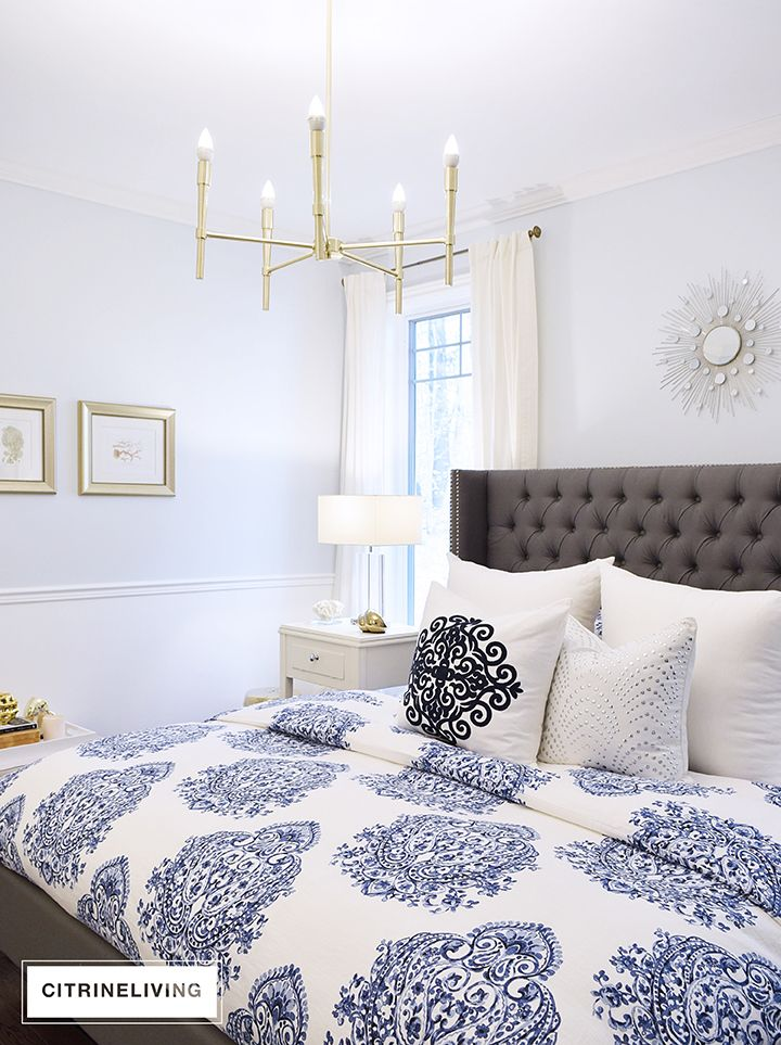 Check out this master bedroom reveal
