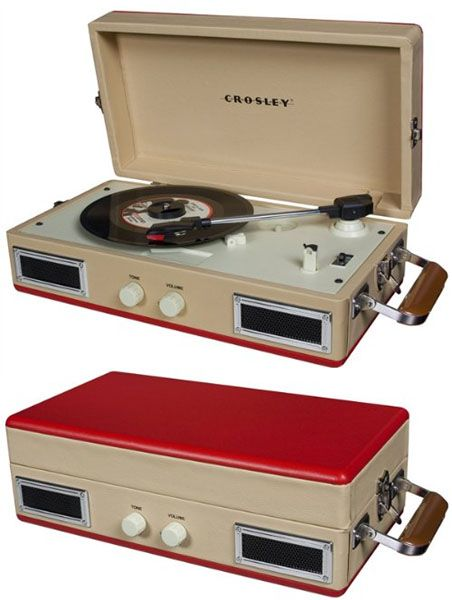 Mini-Turntable by Crosley- Red (Sale price!) | <3 <3 <3 | Turntable
