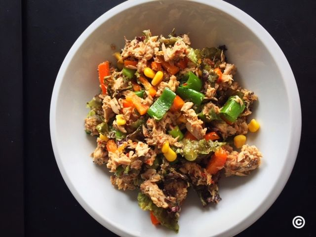 Salat thunfisch feta kalorien