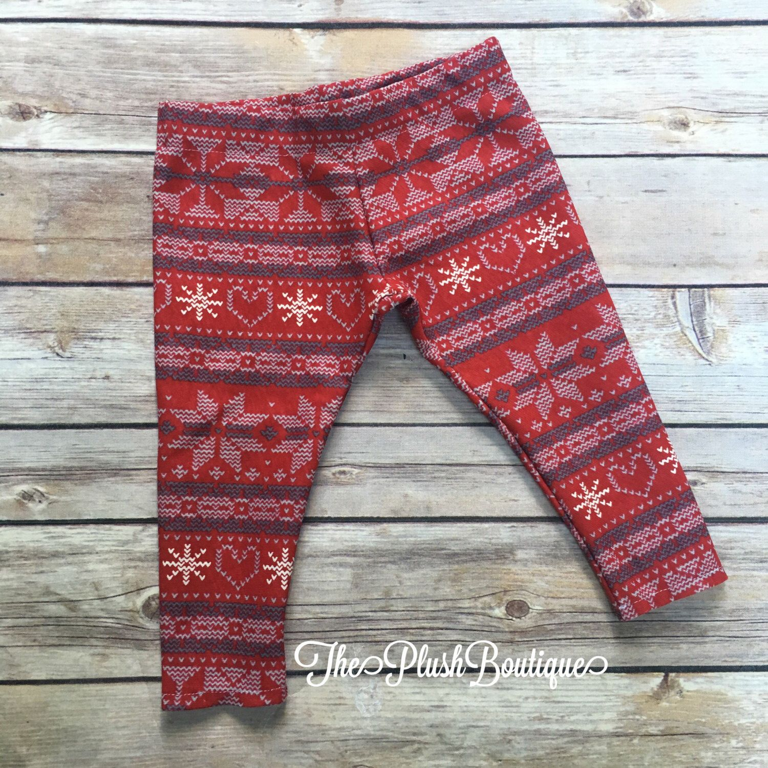 A personal favorite from my Etsy shop https://www.etsy.com/listing/458216814/red-heart-snowflake-christmas-baby-girl
