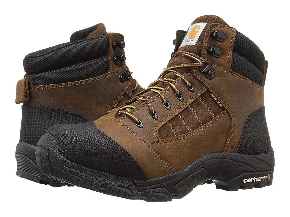 Carhartt Lightweight Waterproof Work Hiker (Brown Oil