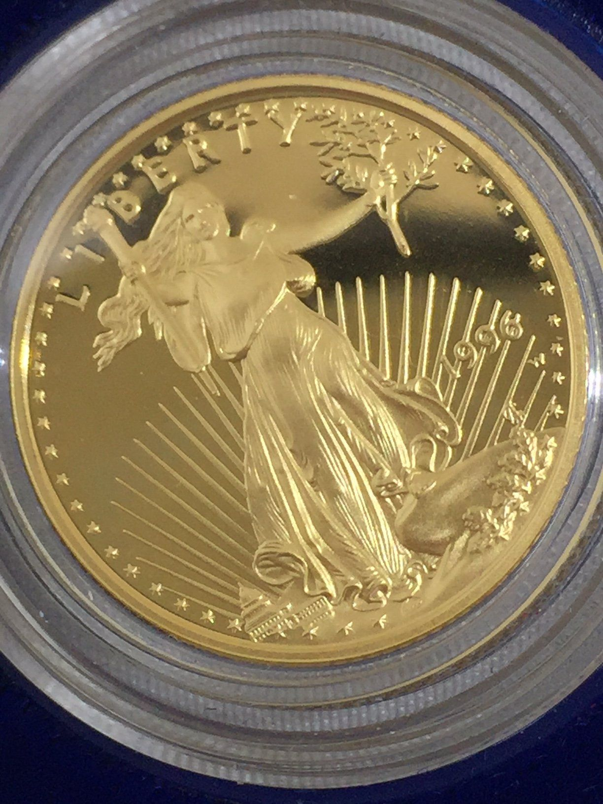 1996 One Quarter Ounce Ten Dollar Gold Coin Proof Goldinvesting Gold Bullion Bars Gold Coins Coins