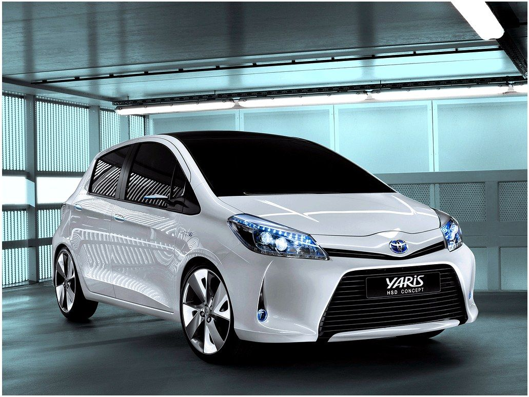 Toyota Yaris And Hybrid Compact City Cars Electric