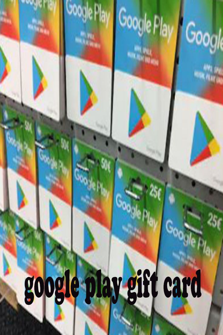 Get free google play gift card in 2020 google play gift