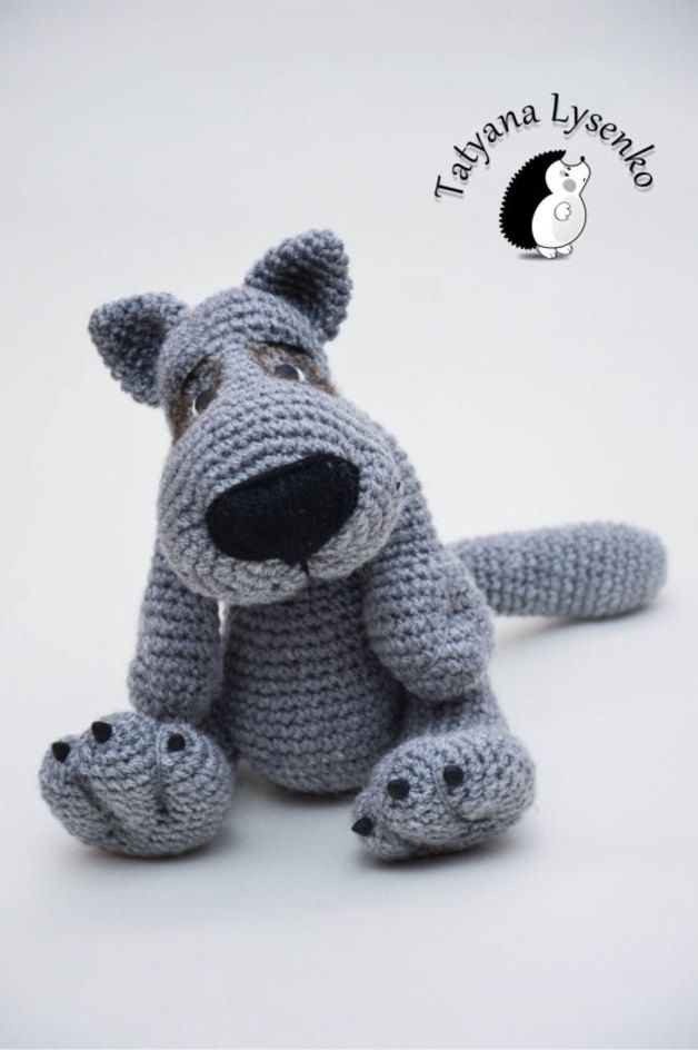 Crochet Rattern Wolf Amigurumi Made By Magie Thread Via Dawandacom