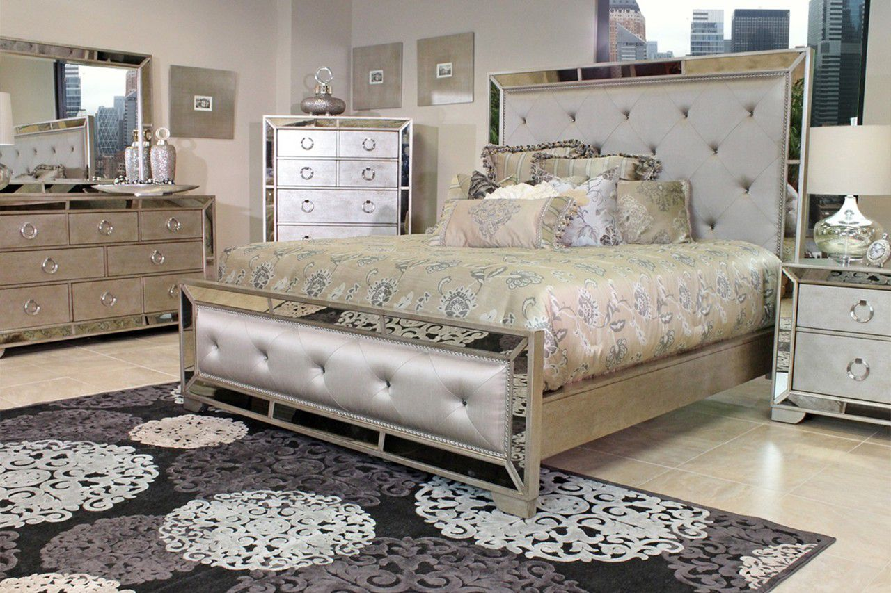 Pin By Lavish Fashions On Homegoods Mirrored Bedroom