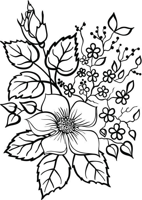arreglos florales para pintar en loza - Buscar con Google | Diseños ...