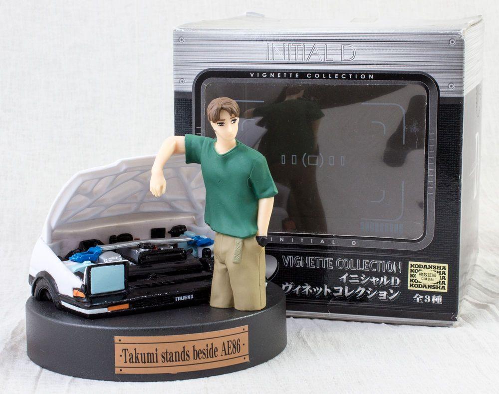 INITIAL D Collection Figure Takumi Fujiwara
