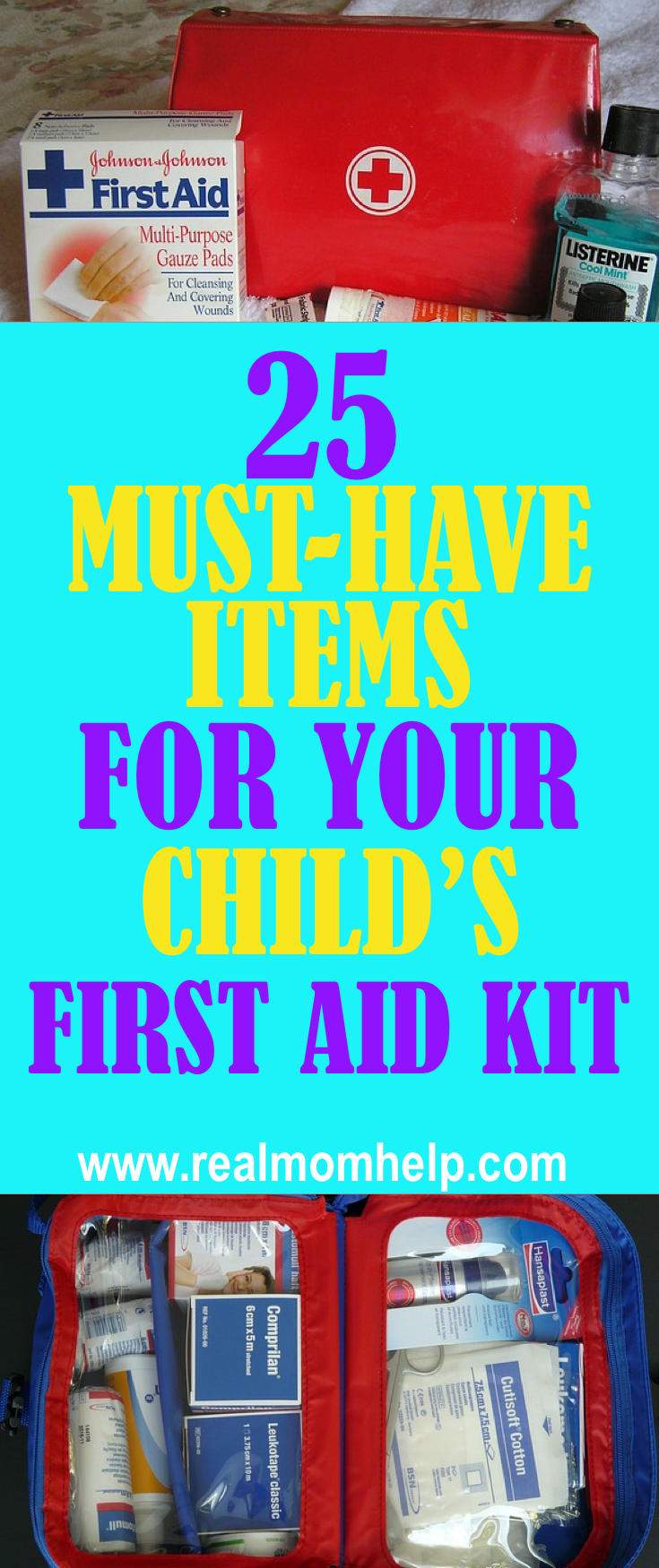 The Ultimate List Of First Aid Kit Essentials Mummy Hansaplat Tin Kids Kits For