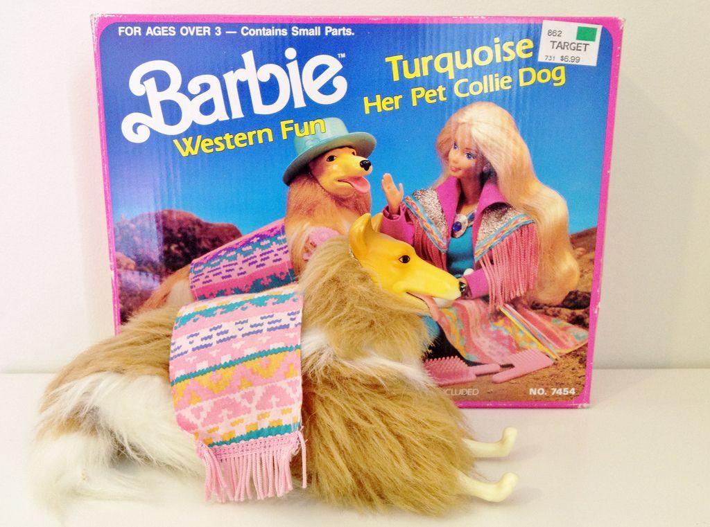 Barbie Dog Collie 1989
