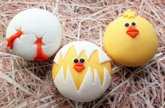 chick cupcakes - soooo adorable!