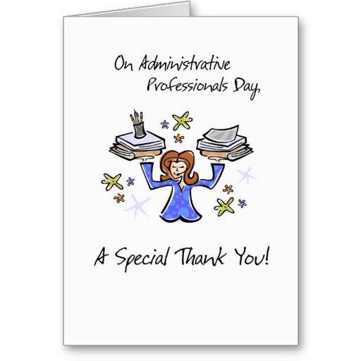 Admin Pro Day Balancing Card Zazzle Com Thank You Greeting Cards Cards Custom Greeting Cards