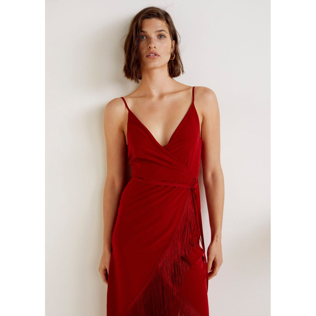 Robe A Franges Taille L Robe A Franges Idees Vestimentaires Robe