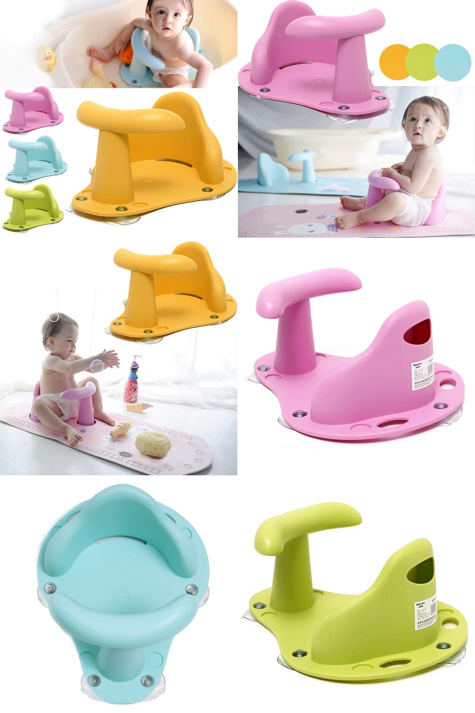 Visit to Buy] Baby Bath Tub Ring Baby Bath Chair Kids Anti Slip ...