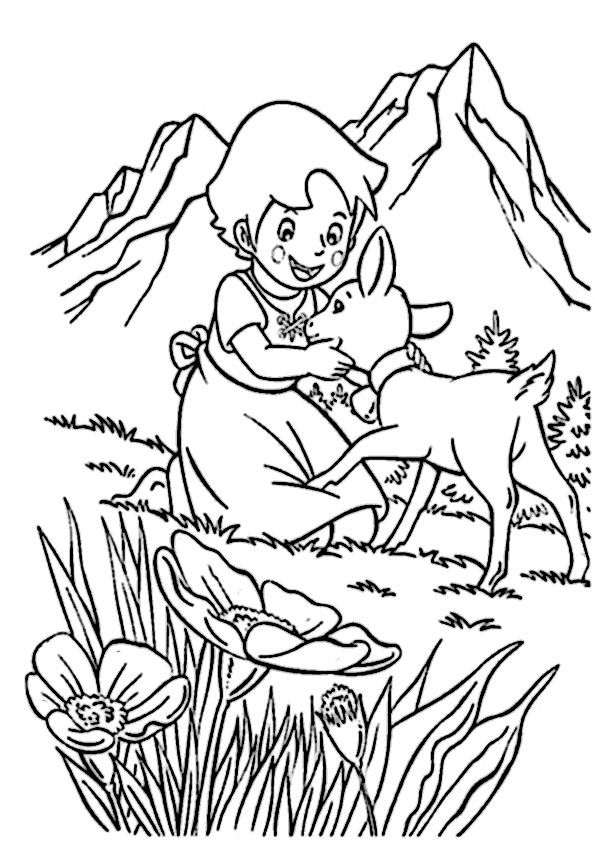 Ausmalbilder Heidi 5 Bordados Pinterest Disney Coloring Pages