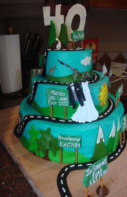tiered car cake grandpas birthday Pinterest Google images